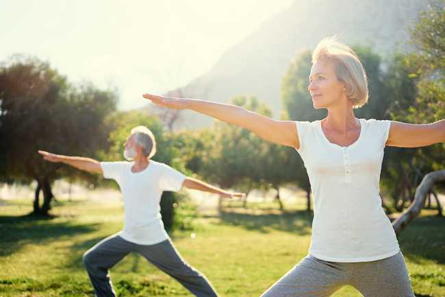 Range of Motion Activities for the Elderly
